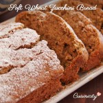 Soft Wheat Zucchini Bread