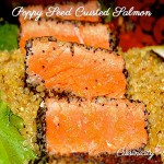 Poppy Seed Crusted Salmon
