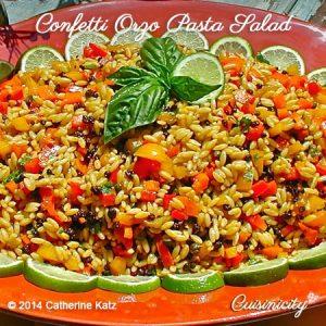 Confetti Orzo Pasta Salad