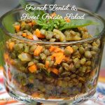 French Lentil & Sweet Potato Salad