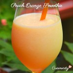 Peach Orange Smoothie