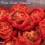 Simply Oven-Dried Tomatoes