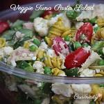 Veggie Tuna Pasta Salad