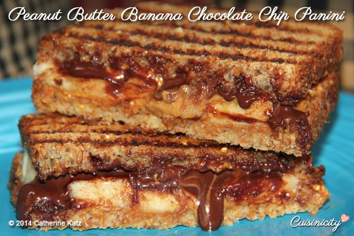 Peanut-Butter-Banana-Chocolate-Chip-Panini-Recipe-Photo-Copyright-Catherine-Katz
