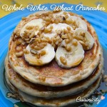 Whole White Wheat Pancakes