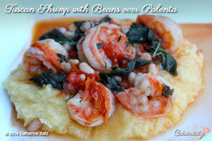 Tuscan-Shrimp-with-Beans-over-Palenta-Recipe-Photo