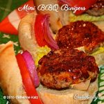 Mini BBQ Turkey Burgers