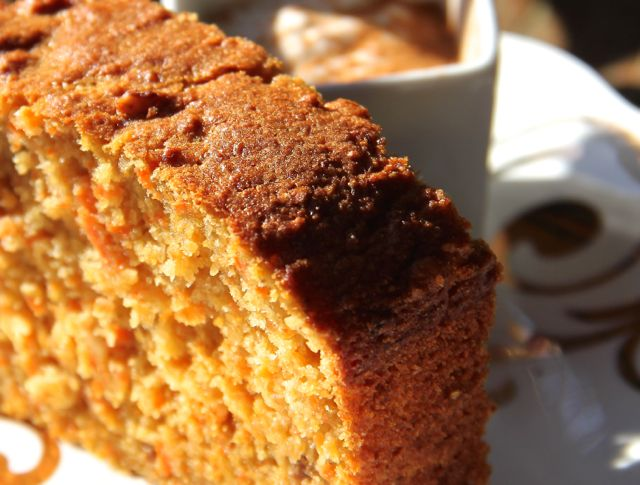 Carrot Bread with Honey Yogurt Dip - Cuisinicity