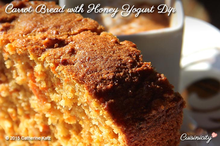 Carrot-Bread-with-Honey-Yogurt-Dip-Recipe-Photo