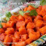 Carrots à la Chermoula