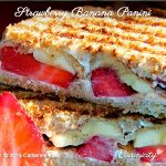 Strawberry Banana Panini