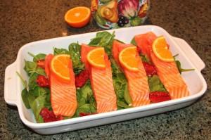 raw salmon medium