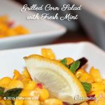 Grilled Corn Salad with Fresh Mint