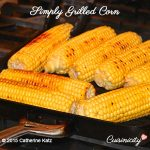 Simply Grilled Corn