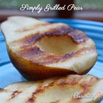 Simply Grilled Pear
