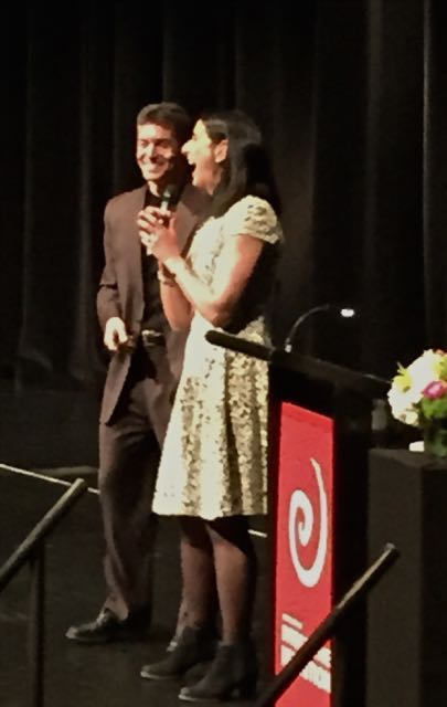 DAVID AND CATHERINE AT IIN 2015