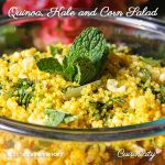 Quinoa Kale & Corn Salad with Fresh Mint