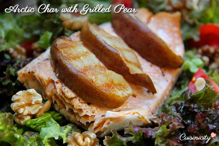 Arctic-Char-with-Grilled-Pear-Recipe-Photo