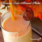 Banana Date Almond Shake