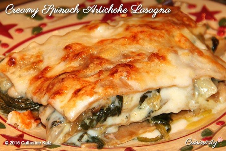 Creamy-Spinach-Artichoke-Lasagna-Recipe