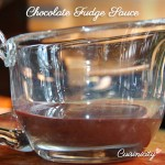 "Chocolate ""Fudge"" Sauce"