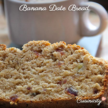 Banana Date Bread feature photo