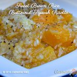 Sweet Brown Rice Butternut Squash Risotto