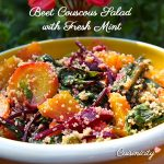 Beet Couscous Salad with Fresh Mint
