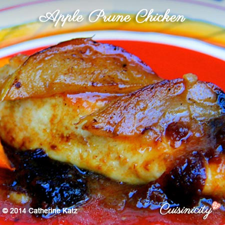 Apple Prune Chicken