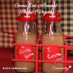 Cocoa Oat Almond Shake (Vegan)