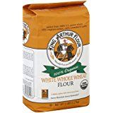 white whole wheat flour king arthur flour package