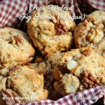 Pear Walnut Fig Scones (Vegan)