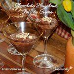 Chocolate Hazelnut Pots de Crème