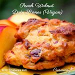 Peach Walnut Date Scones