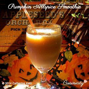 Pumpkin-Allspice-Smoothie