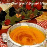 Creamy Red Lentil Squash Soup