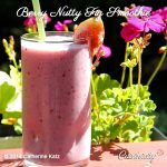 Berry Nutty Fig Smoothie