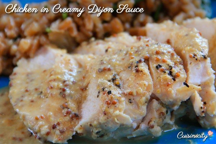 Chicken in Creamy Dijon Sauce-Recipe