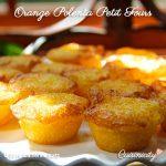 Orange Polenta Petit Fours