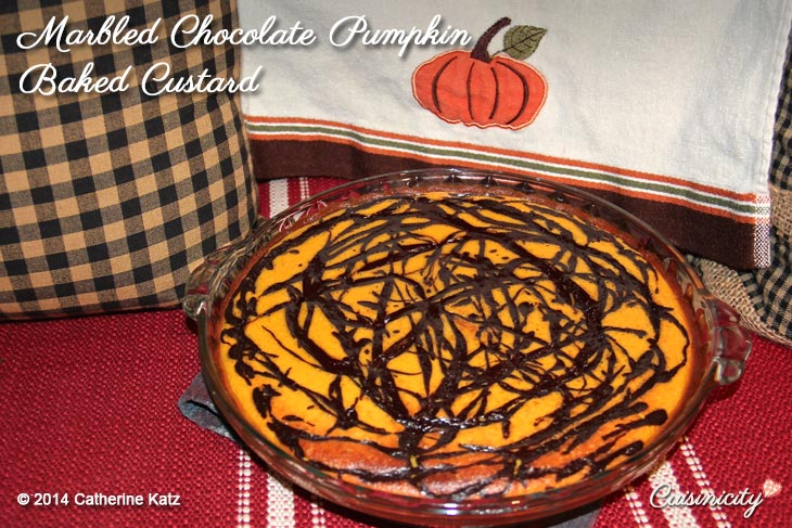 Marbled-Chocolate-Pumpkin-Baked-Custard-Recipe-Photo-2-Copyright-CKatz
