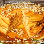 Pumpkin Cinnamon Walnut Pancakes