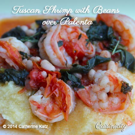 Tuscan-Shrimp-with-Beans-over-Palenta-Feature-Photo