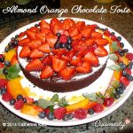 Almond Orange Chocolate Torte