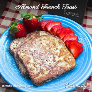 Almond-French-Toast-Feature-Photo in Healthy Recipes Help the Healing Process blog post
