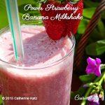 Power Strawberry Banana Milk Shake