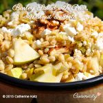 Barley Salad with Pear, Walnut & Feta