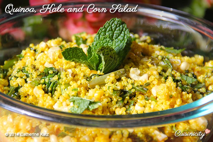Quinoa, Kale and Corn Salad