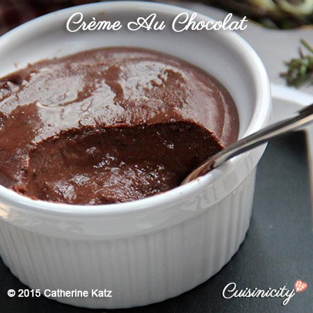 Crème au Chocolat (vegan)