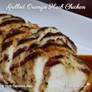 Grilled Orange Herb Chicken