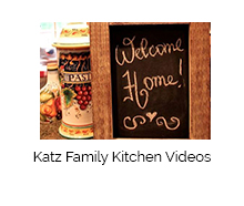 Katz-Family-Kitchen Welcome Home Sign